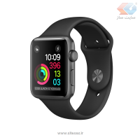 ساعت هوشمند اپل واچ سری 2 مدل 42mm Space Gray Aluminum Case with Black Sport Band